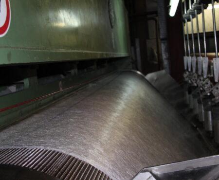 Изготовление геотекстиля